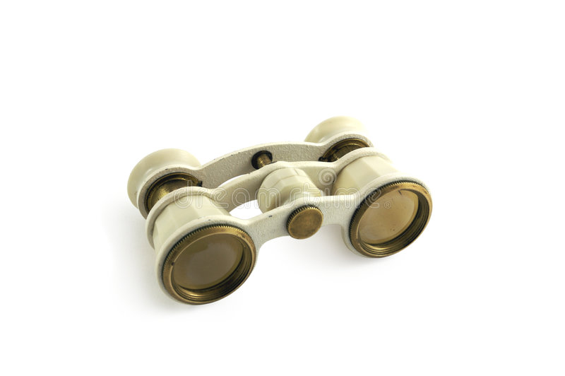 Theater binoculars stock photography