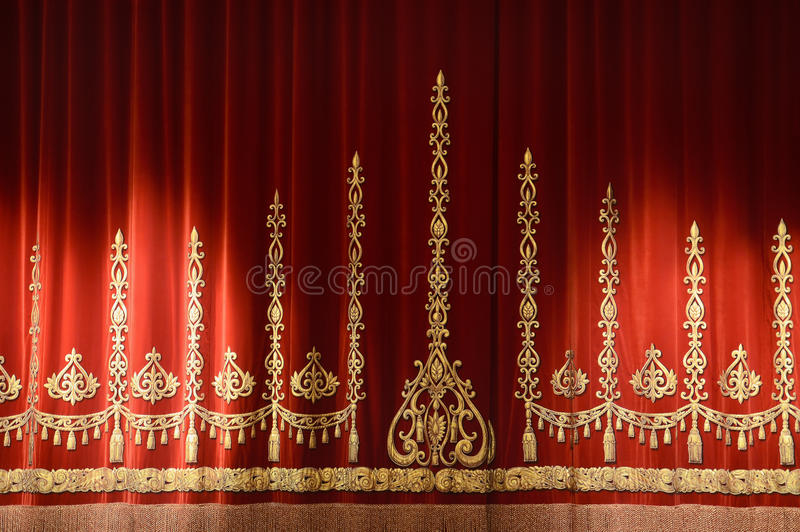 Download Theater curtain stock image. Image of closed, ceremony - 23424027