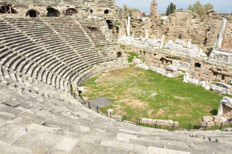 Theater an der Seite lizenzfreies stockbild