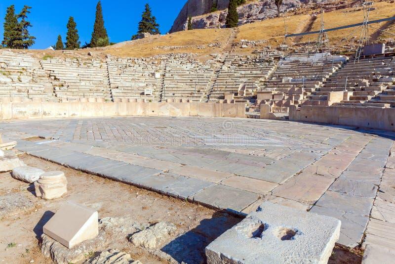 Theater of Dionysos, Acropolis, Athens royalty free stock photos