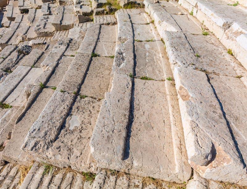 Theater of Dionysos, Acropolis, Athens royalty free stock photo
