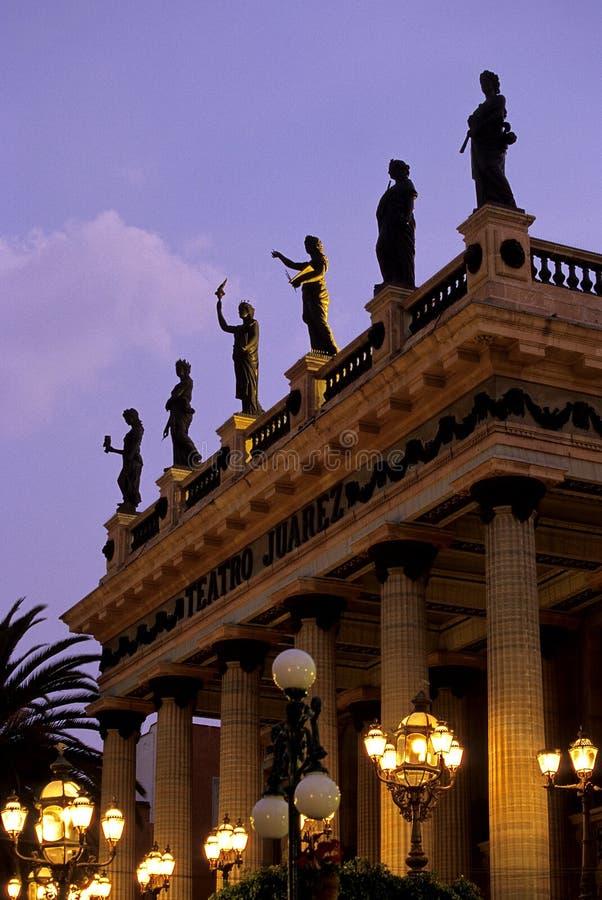 Theater- Guanajuato, Mexico Stock Photo
