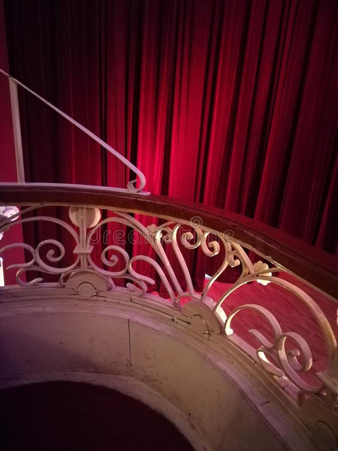 Theater-Lissabon-Architektur stockbilder