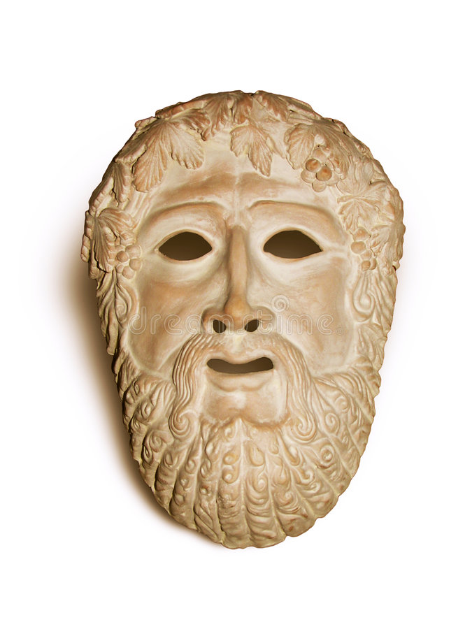 Theater mask stock photography