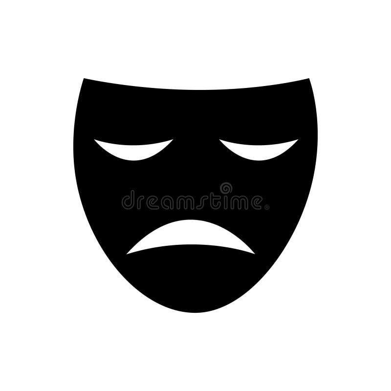 Theater mask icon vector illustration vector illustration