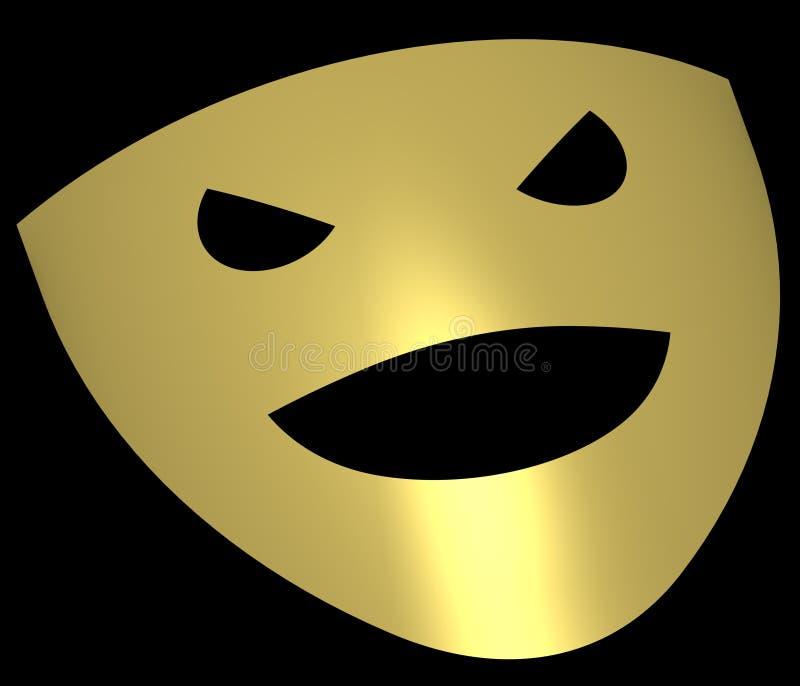 Theater masks 2 stock illustration