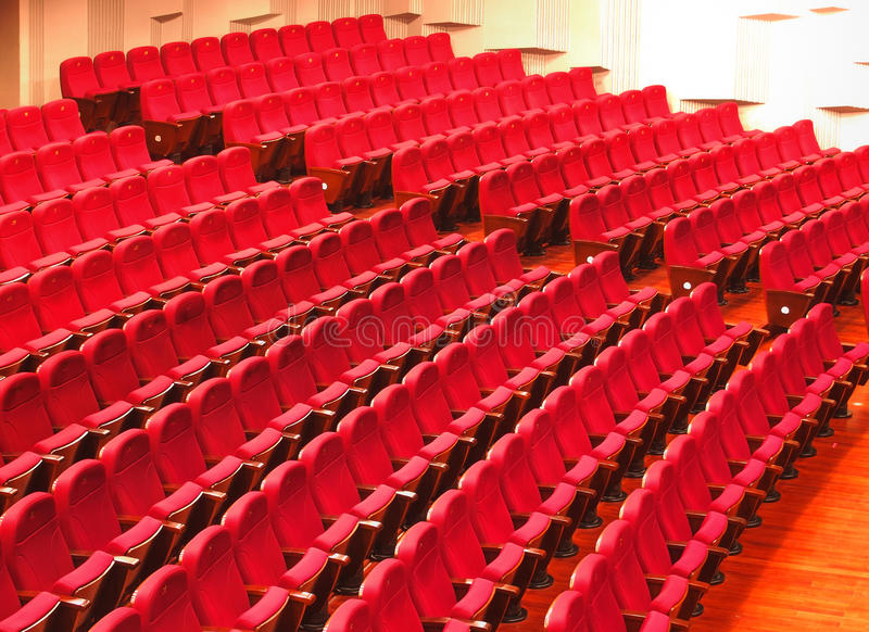 THEATER SEATINGS royalty free stock image