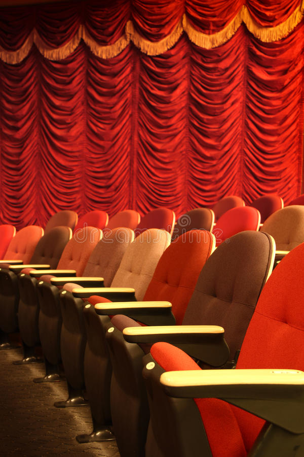 Download Theater seatings stock image. Image of drama, house, design - 25945537