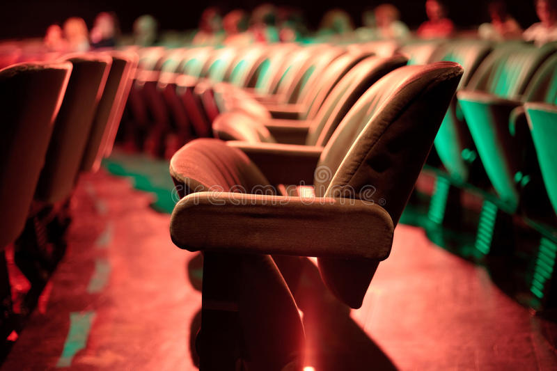 Download Theater seats stock image. Image of modern, background - 25867541