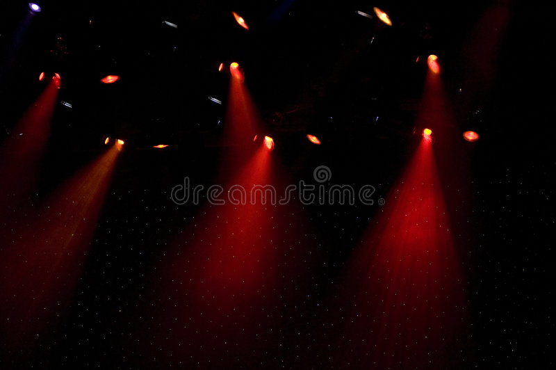 Download Theater Spot Lights On Stage Stock Photo - Image of illuminates, indoors: 7268414