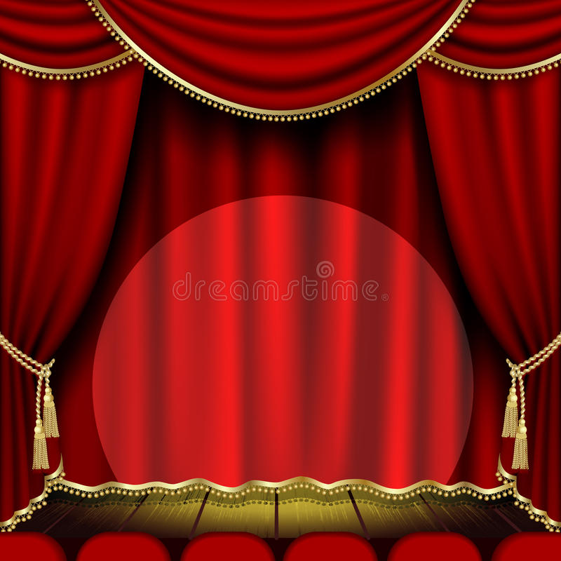Download Theater Stage Royalty Free Stock Photography - Image: 19039367
