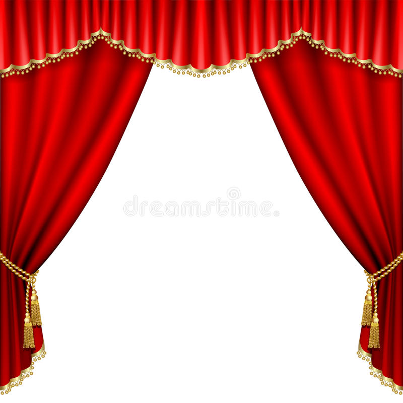 Download Theater stage stock vector. Image of playhouse, classical - 21602938