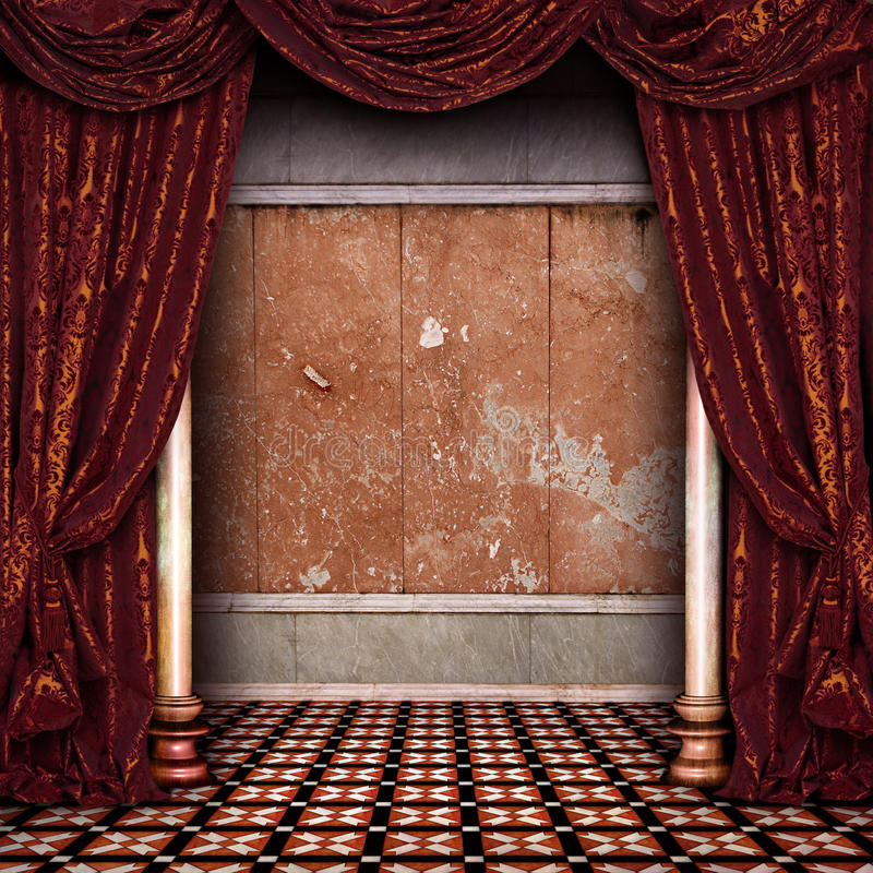Download Theater stage stock image. Image of interior, medieval - 22606297