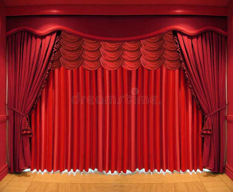 Theater stage royalty free stock photo