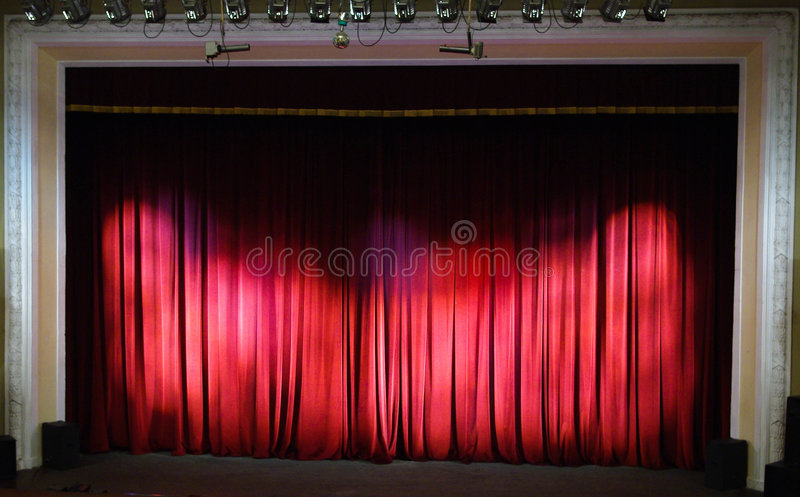 Download Theater Stage. Theater Interior. Stock Photo - Image of empty, drama: 8687550