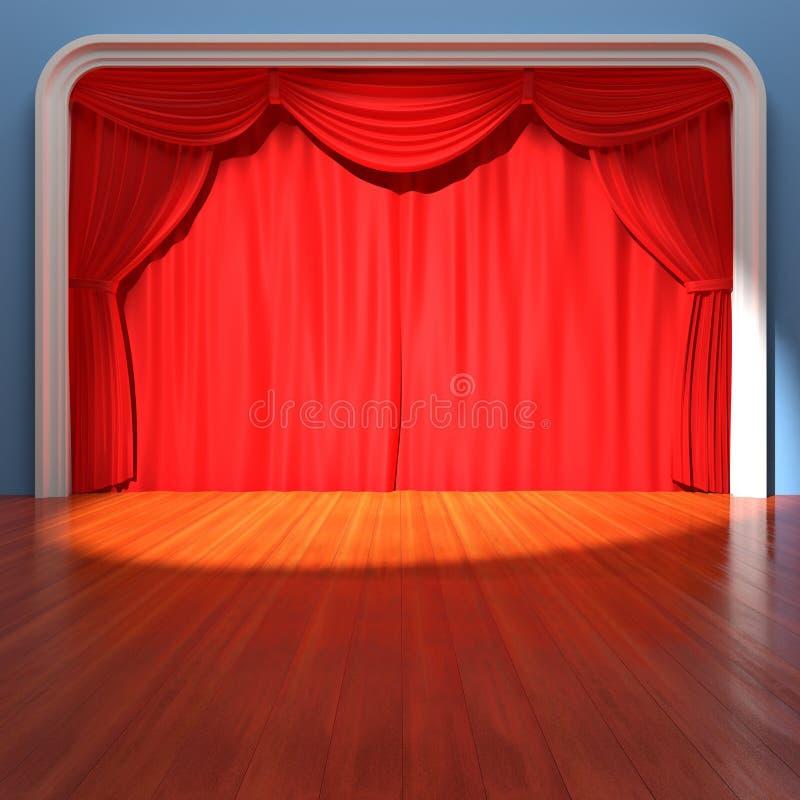 Theater-Stufe vektor abbildung