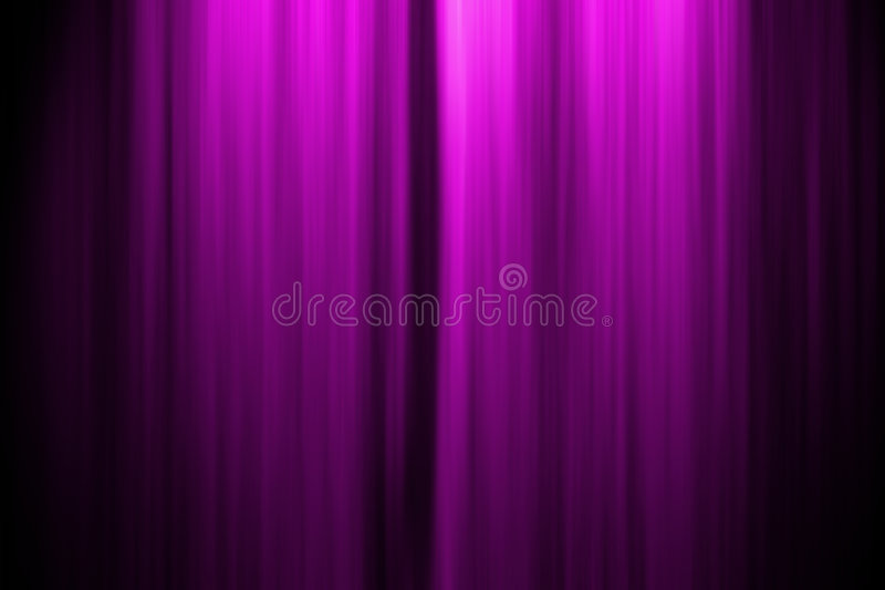 Theater-Stufe-Trennvorhang lizenzfreie abbildung