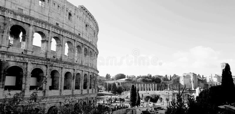 Theater Trajan alias Coliseum arkivfoton