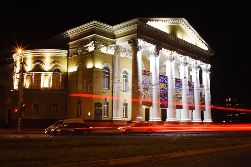 Theater van het Kaliningrad het Regionale Drama royalty-vrije stock afbeeldingen
