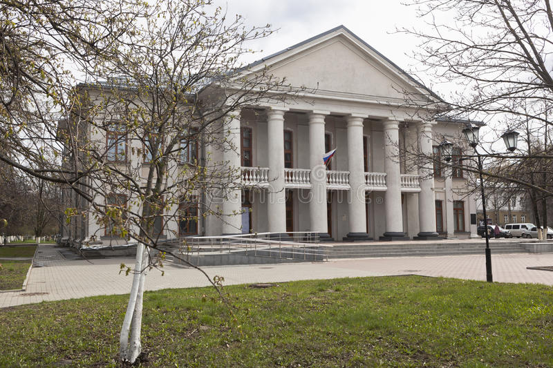 Theater for Young Spectators in the city Vologda stock photo