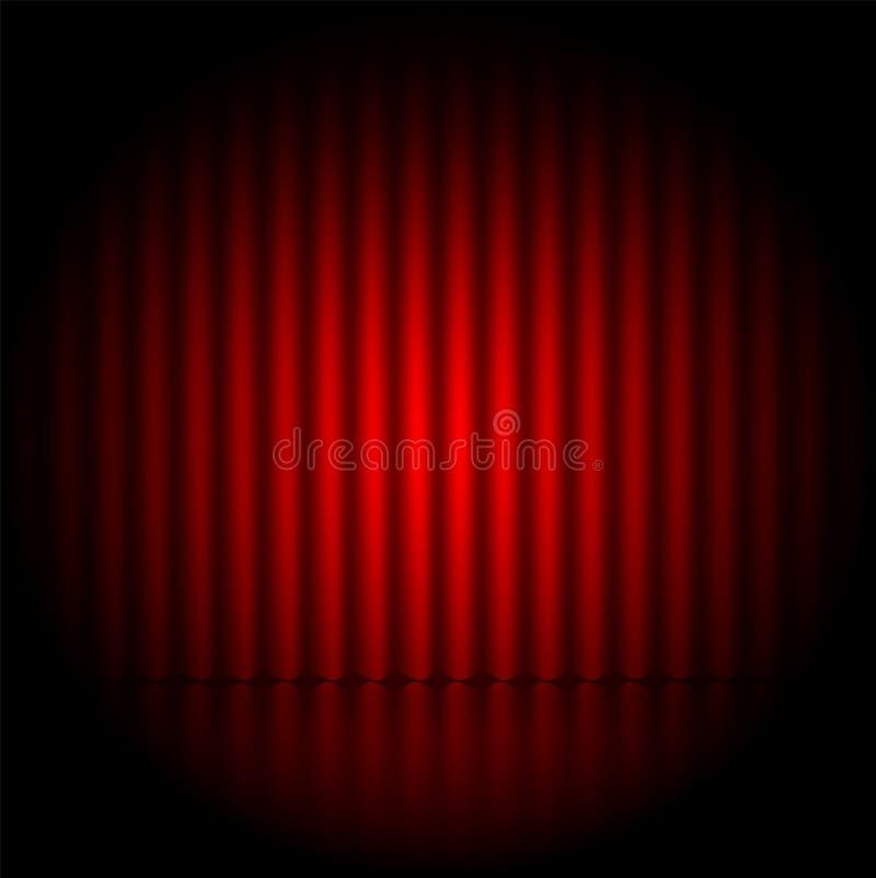 Theaterhintergrund vektor abbildung