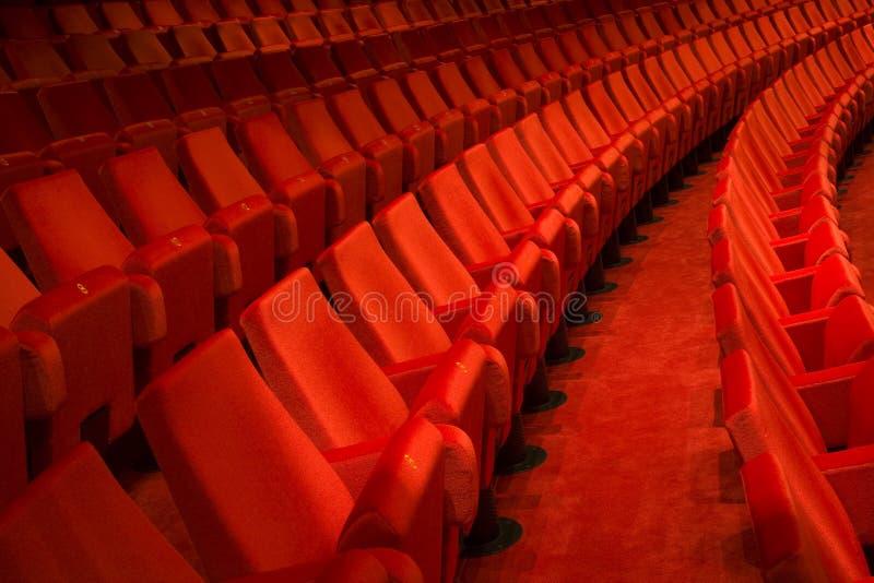 Theaterinnenraum lizenzfreies stockbild