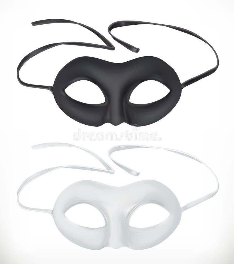 Theatermasken, Vektorikone vektor abbildung