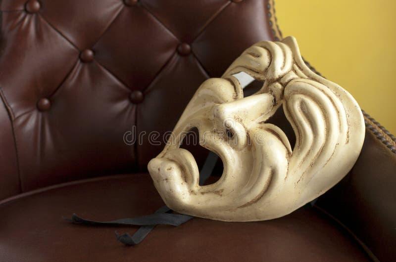 Theatermasker royalty-vrije stock foto's