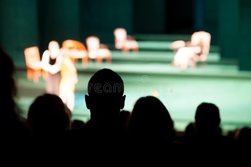 Theaterspel royalty-vrije stock afbeeldingen