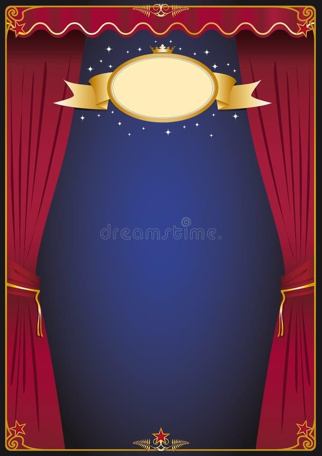 Theaterszene stock abbildung