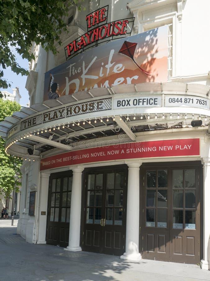 Theatertheater, Londen royalty-vrije stock afbeelding