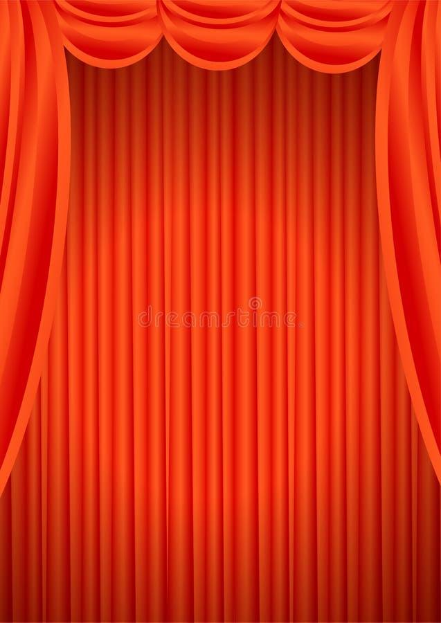 Theatertrennvorhänge vektor abbildung