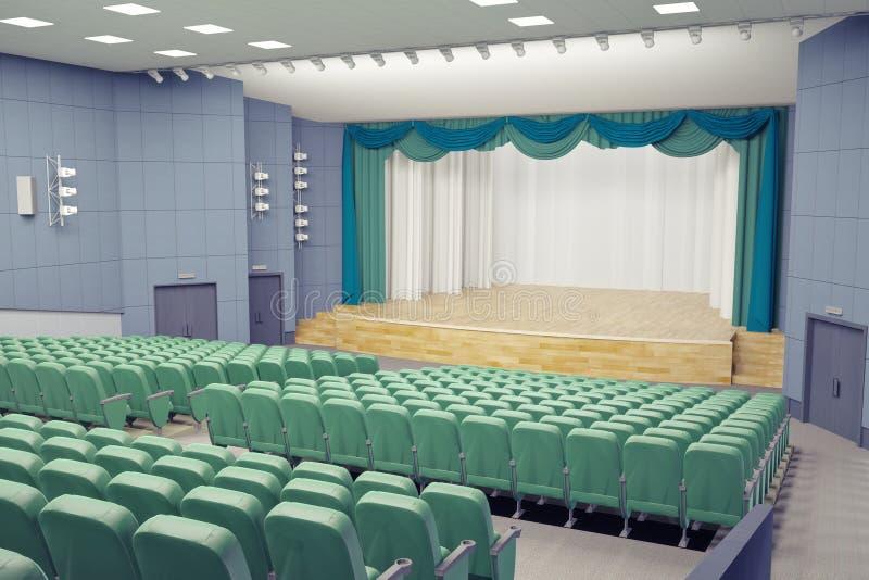 Theaterzaal vector illustratie