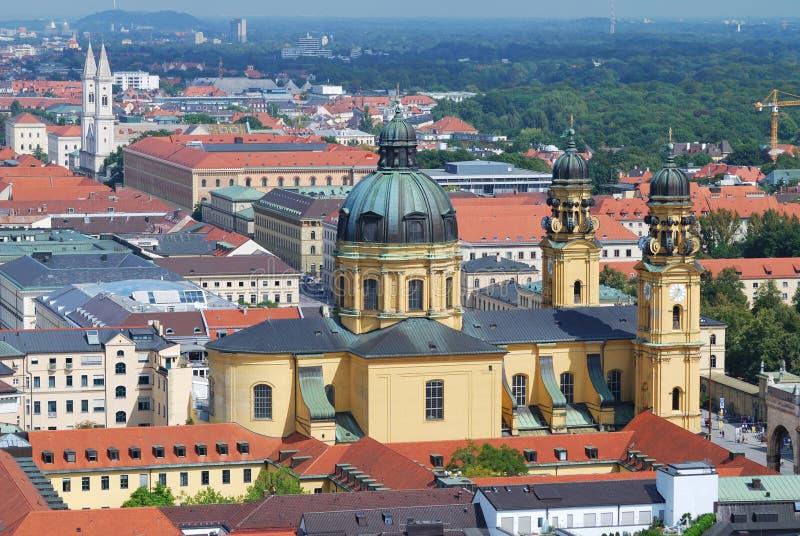 theatine de Munich d'église photos stock