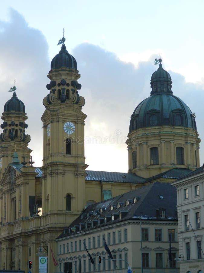 Theatine kościół St Cajetan, Monachium fotografia royalty free