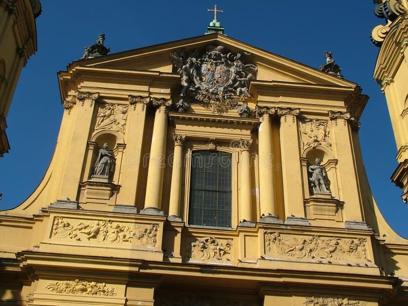 theatine salvatorplatz munich церков стоковые изображения rf