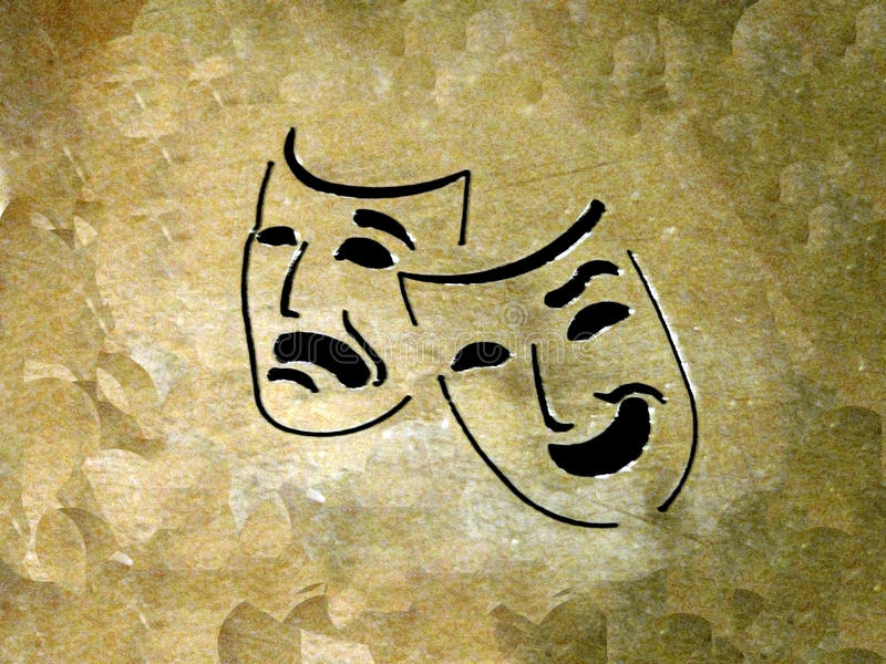 Download Theatre stock photo. Image of masks, plays, emotions - 12738472