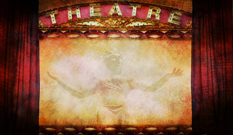 Theatre Obrazy Royalty Free