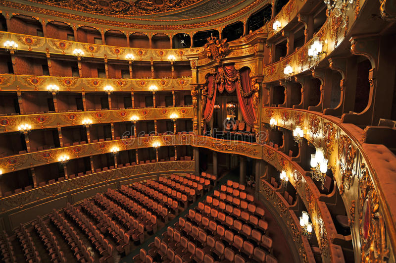Download Theatre stock image. Image of audience, parma, teatro - 25618883