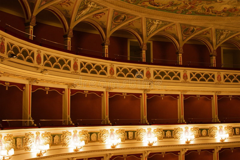 theatre royaltyfria foton