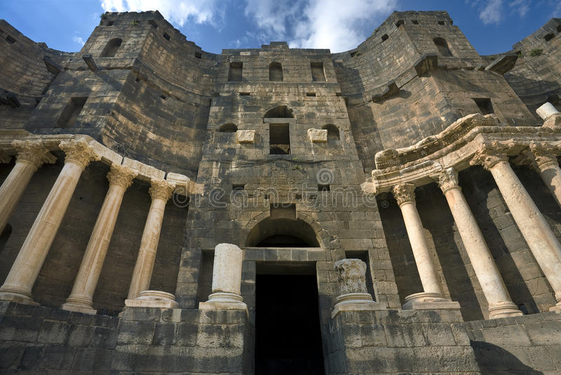Download The Theatre In Bosra Stock Image - Image: 16723631