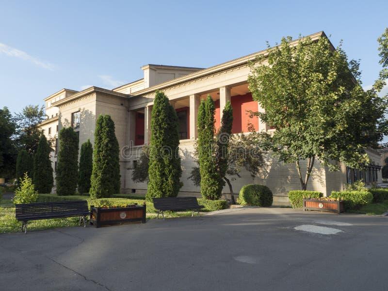 Theatre in Brasov, Romania royalty free stock image