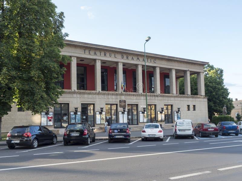 Theatre in Brasov, Romania stock image