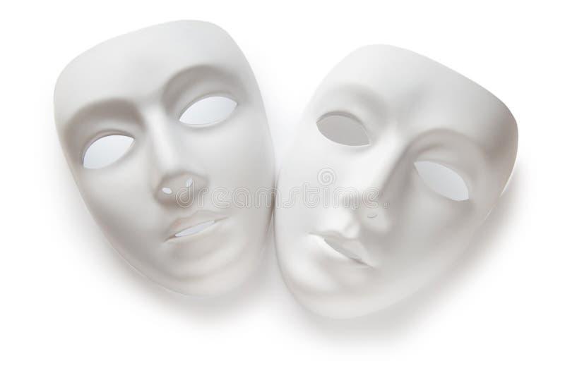 Download Theatre Concept - White Masks Stock Image - Image: 16569549