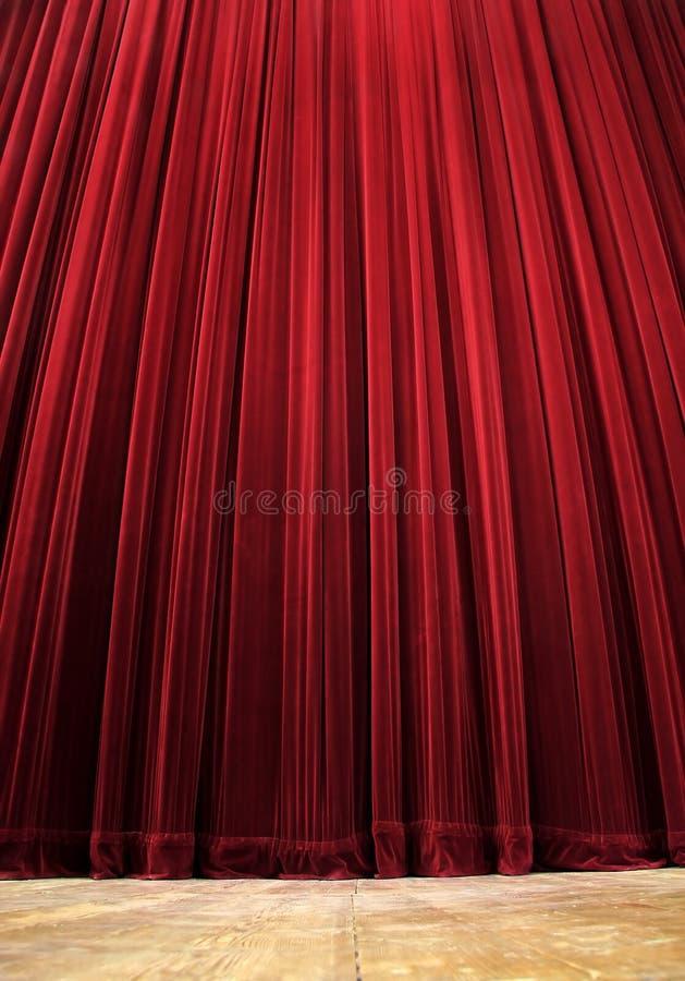 Theatre curtain royalty free stock photos