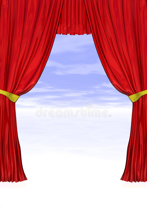 Download Theatre Curtains Stock Photos - Image: 5148323