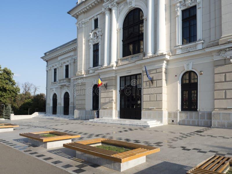 Theatre building, Drobeta-Turnu Severin, Romania royalty free stock image
