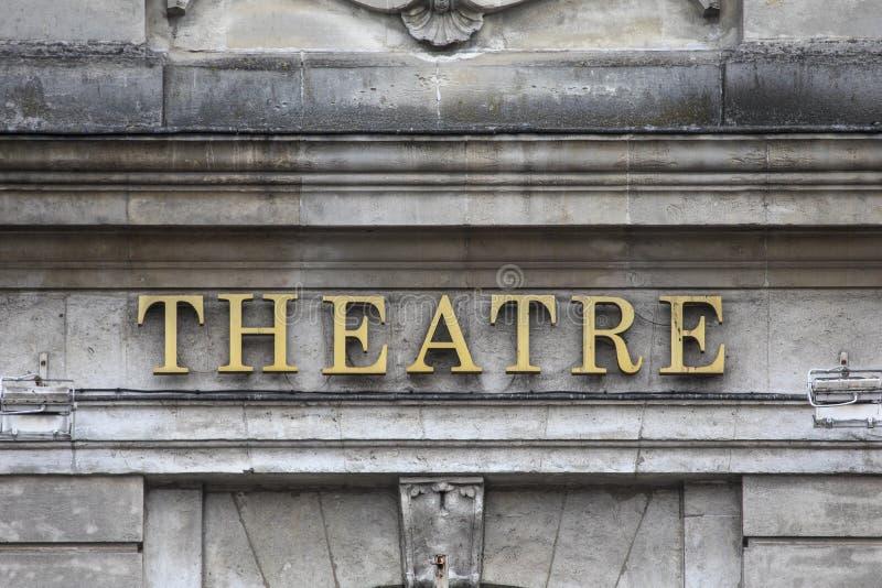 Theatre du Nord à Lille image stock