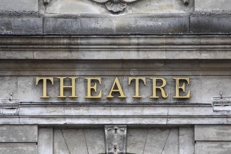 Theatre Du Nord w Lille obraz stock