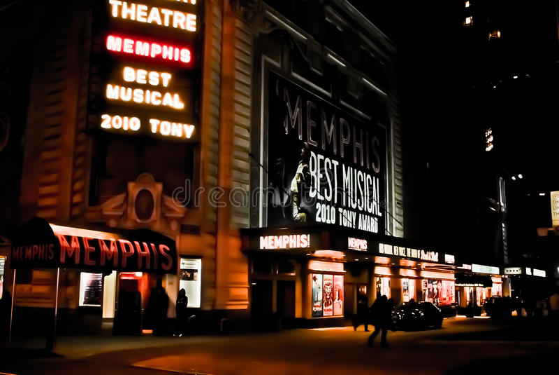 theatre för broadway manhattan nycshubert royaltyfri bild
